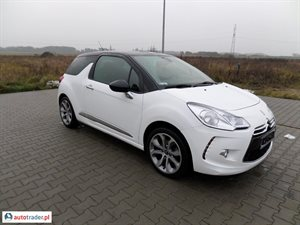 Citroen DS3 2012 1.6 92 KM