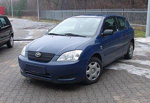 Toyota Corolla 1,4 3-drzwiowy hatchback 1.4 2003 r. - zobacz ofertę