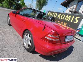 Mercedes SLK 2000 2 163 KM