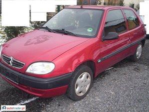 Citroën Saxo 1.0 1999 r. - zobacz ofertę