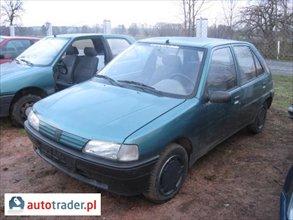Peugeot 106 NA CZĘŚCI BADZ W CAŁOŚCI 1.1 1993 r. - zobacz ofertę