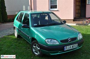 Citroen Saxo 2001 1.5 58 KM