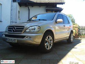 Mercedes 500 5.0 2001 r. - zobacz ofertę