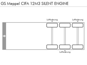 GS MEPPEL CIFA 12M3 SILENT ENGINE