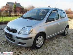 Toyota Yaris 1.4 2005 r. - zobacz ofertę