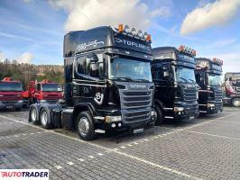 Scania R 560 V8 Topline E5 6x2 Dop. Masa 66.T Po Kontrakcie Serwisowym - zobacz ofertę