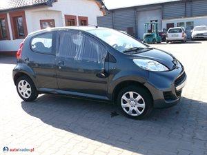 Peugeot 107 1.0 2009 r. - zobacz ofertę