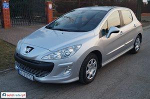 Peugeot 308 1.6 2011 r.,   30 600 PLN