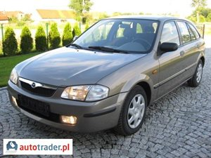 Mazda 323F 1.5 1999 r. - zobacz ofertę