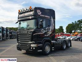 Scania R 560 V8 Topline E5 6x2 Po Kontrakcie Serwisowym Bogie Retarder - zobacz ofertę