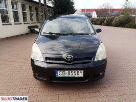 Toyota Corolla Verso 2005 2.0 116 KM