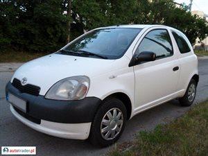 Toyota Yaris 1.0 2002 r. - zobacz ofertę