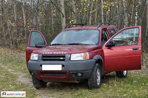Land Rover Freelander 1.8 1998 r. - zobacz ofertę