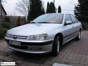 Peugeot 406 2.1 1998 r. - zobacz ofertę