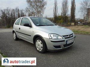 Opel Corsa 1.3 2005 r.,   9 900 PLN