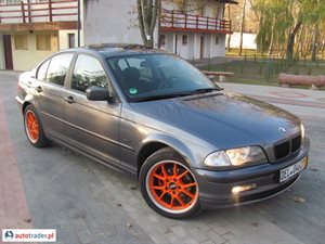 BMW 318 2001 1.9 118 KM