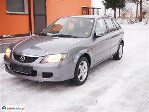 Mazda 323F 1.6 2003 r. - zobacz ofertę