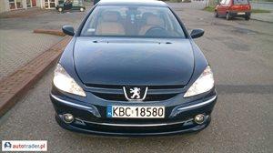 Peugeot 607 2005 2.7 204 KM