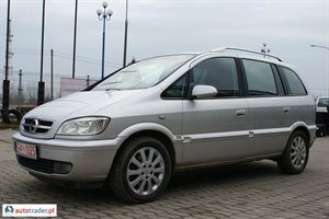 Opel Zafira 2.2 2004 r.,   13 300 PLN