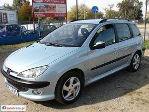 Peugeot 206 2.0 2002 r. - zobacz ofertę
