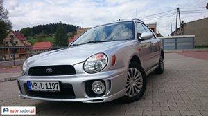 Subaru Impreza 2.0 2001 r. - zobacz ofertę