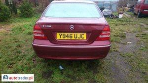 Mercedes 180, 2001r. - zobacz ofertę