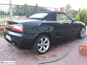 MG TF 2003 1.8 160 KM