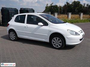 Peugeot 307 1.4 2002 r. - zobacz ofertę