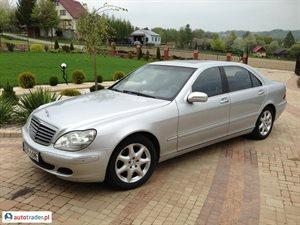 Mercedes 500 5.0 2005 r. - zobacz ofertę