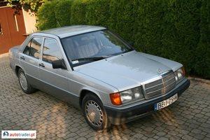 Mercedes W-201 (190) 2.0 1989 r. - zobacz ofertę