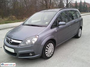Opel Zafira, 2006r.,   18 500 PLN