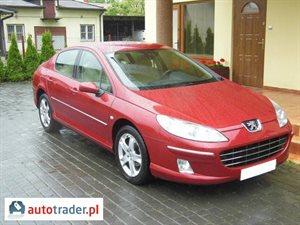 Peugeot 407 1.7 2008 r. - zobacz ofertę