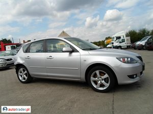 Mazda 3 1.6 2005 r.,   9 200 PLN