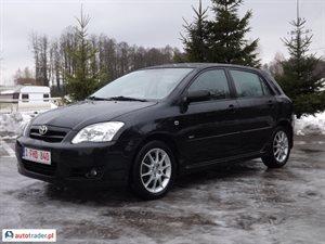 Toyota Corolla 1.4 2006 r. - zobacz ofertę