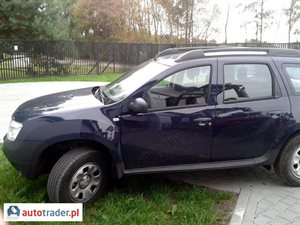 Dacia Duster 1.6 2013 r.,   44 444 PLN