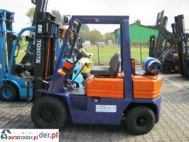 TOYOTA 5FG25-wózek widłowy 1994r.,   24 000 PLN