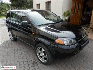 Honda HR-V 1.6 2001 r. - zobacz ofertę