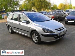 Peugeot 307 1.6 2002 r.,   8 900 PLN