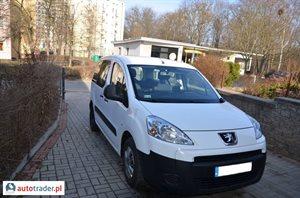 Peugeot Partner, 2010r.,   27 500 PLN