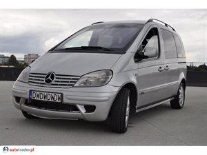 Mercedes Vaneo 1.7 2004 r. - zobacz ofertę