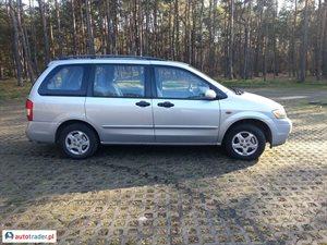 Mazda MPV 2.0 2000 r. - zobacz ofertę