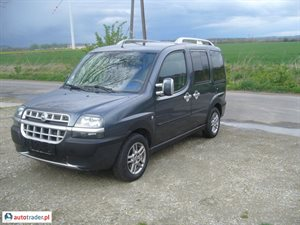Fiat Doblo 1.6 2003 r. - zobacz ofertę