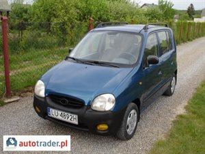 Hyundai Atos 1.0 1999 r. - zobacz ofertę