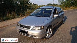 Opel Astra 1.6 1999 r.,   5 700 PLN