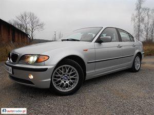 BMW 325 2.5 2002 r. - zobacz ofertę