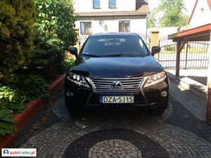 Lexus RX 3.5 2013 r. - zobacz ofertę
