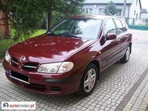 Nissan Almera 2002 1.8 114 KM