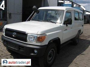 Toyota Land Cruiser 4.2 2010 r. - zobacz ofertę