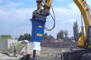 Do maszyn budowlanych Młoty wyburzeniowe,     PLN