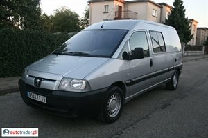 Peugeot Expert 2.0 2004 r. - zobacz ofertę